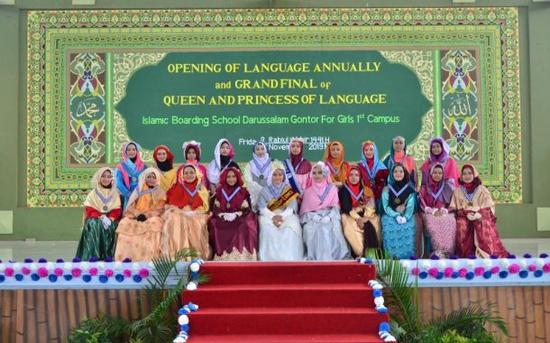 Menjaga Mahkota Pondok dengan Kompetisi Queen and Princess Language