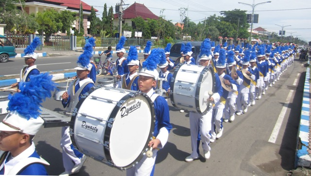 Marching Band Gema Nada Darussalam