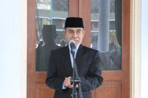 K.H. Hasan Abdullah Sahal saat menyampaikan pesan dan nasehat